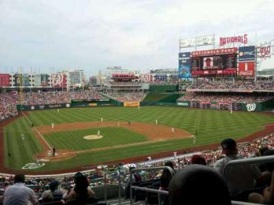 Nationals Park, section: 216, row: J, seat: 1