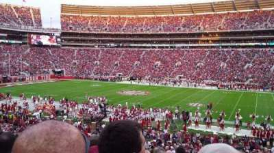Bryant-Denny Stadium, section: D, row: 43, seat: 22
