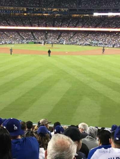 Dodger Stadium section 314PL
