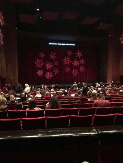 San Diego Civic Theatre section Dress Circle