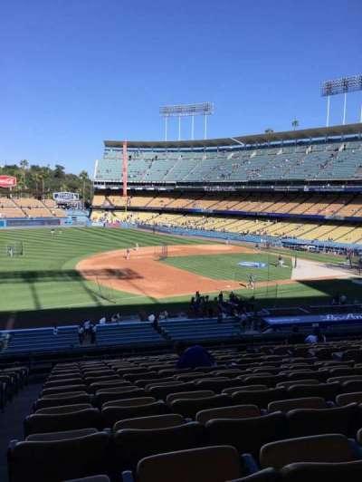 Dodger Stadium section 143LG