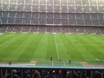 Camp Nou, section: 305, row: 19, seat: 2