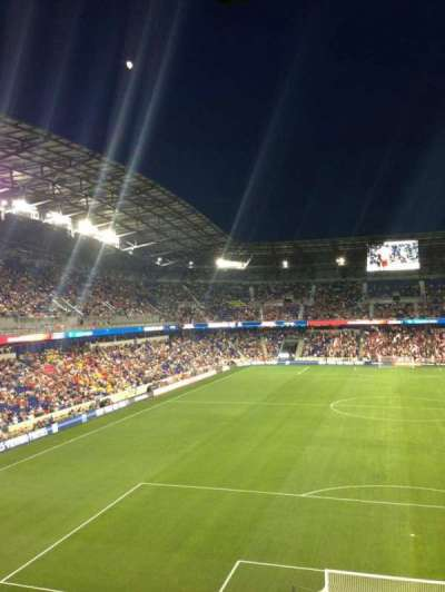 Red Bull Arena, section: 218, row: 4, seat: 13