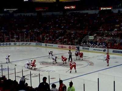 Joe Louis Arena section standing room