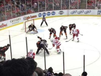 Joe Louis Arena section 123