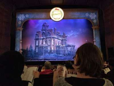 Benedum Center, section: Orch-c, row: L, seat: 108