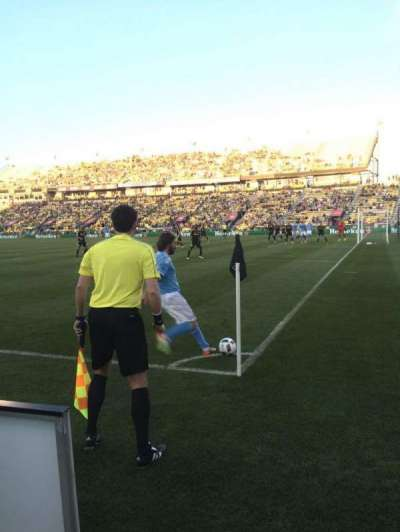 Mapfre Stadium, section: 121, row: 1, seat: 3