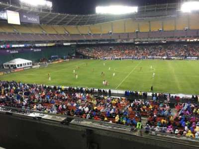 RFK Stadium, section: M35, row: 1, seat: 8