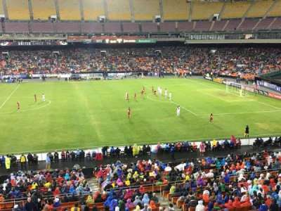 RFK Stadium, section: M35, row: 1, seat: 7
