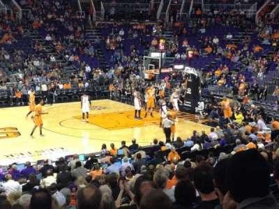Talking Stick Resort Arena, section: 103, row: 18, seat: 1