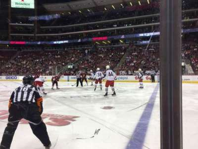 Gila River Arena, section: 111, row: A, seat: 4