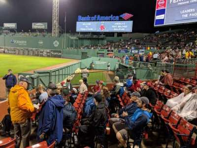 Fenway Park, section: Right Field Box 2, row: H, seat: 6