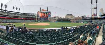 Comerica Park, section: 119, row: 12, seat: 8