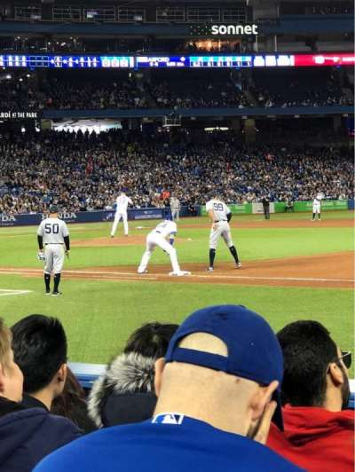 Rogers Centre, section: 114L, row: 6, seat: 109