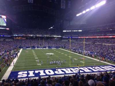 Lucas Oil Stadium section 228