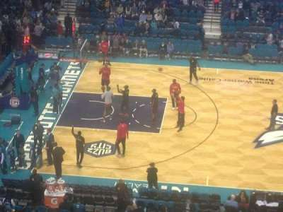 Spectrum Center, section: 209, row: B, seat: 8