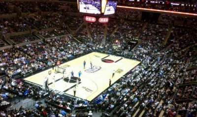 AT&T Center, section: 213, row: 1, seat: 13