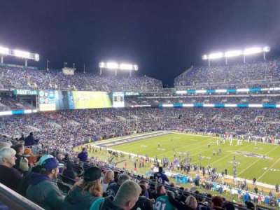 M&T Bank Stadium, section: 225, row: 10, seat: 2