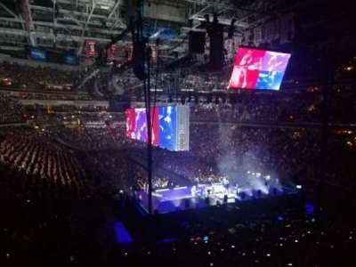 Capital One Arena, section: 115, row: Z, seat: 10