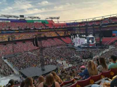 FedEx Field, section: 326, row: 14, seat: 14