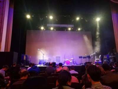 Lincoln Theatre, section: Center ORCH, row: F, seat: 110