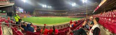 Great American Ball Park, section: 102, row: B, seat:  12