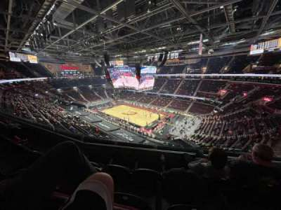 Rocket Mortgage FieldHouse, section: 206, row: 3, seat: 2
