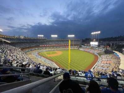 Dodger Stadium, section: 50RS, row: CC, seat: 16