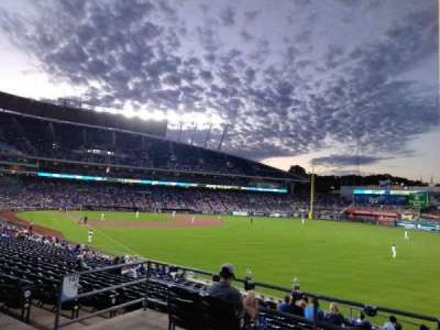 Kauffman Stadium section 247