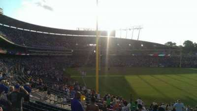 Kauffman Stadium section 249