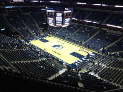 FedEx Forum, section: 211, row: E, seat: 1
