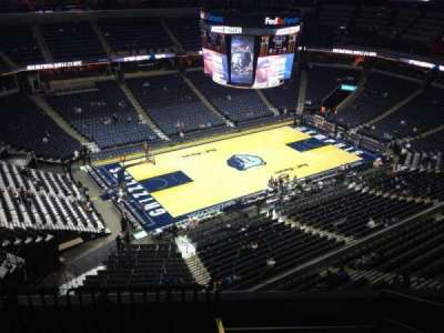FedEx Forum, section: 205, row: E, seat: 1