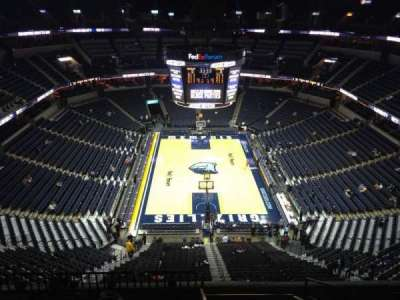 FedEx Forum, section: 232, row: H, seat: 1