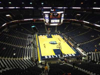 FedEx Forum, section: 232, row: A, seat: 20