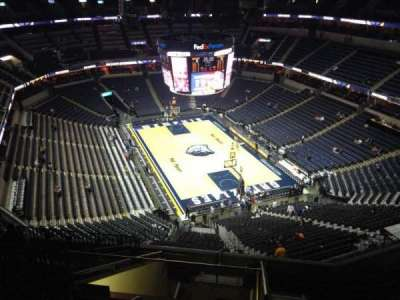 FedEx Forum, section: 231, row: L, seat: 17