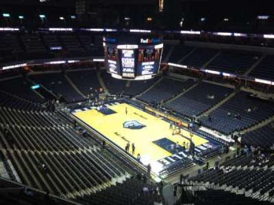 FedEx Forum, section: 229, row: C, seat: 1