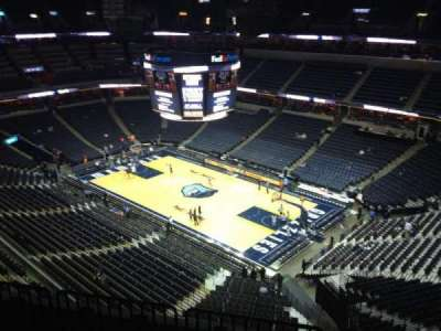 FedEx Forum, section: 228, row: F, seat: 1