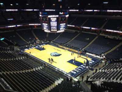 FedEx Forum, section: 228, row: A, seat: 3