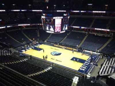 FedEx Forum, section: 227, row: B, seat: 1