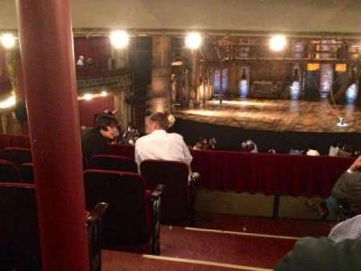 PrivateBank Theatre, section: Dress Circle RC, row: F, seat: 222