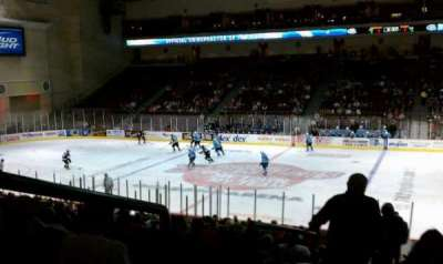 Orleans Arena, section: 115, row: Q, seat: 18