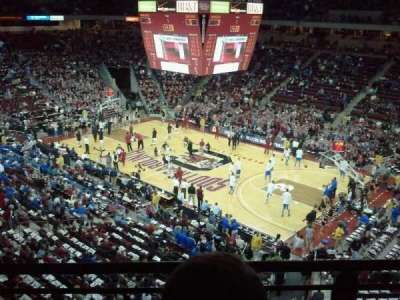 Colonial Life Arena, section: 205, row: 2, seat: 8