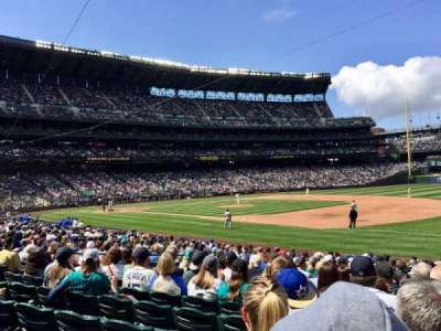 Safeco Field, section: 118, row: 21, seat: 1