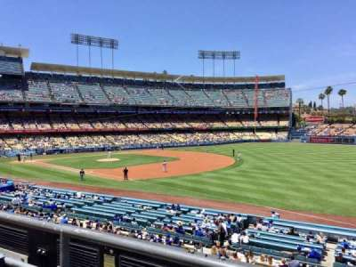 Dodger Stadium, section: 154LG, row: B, seat: 1
