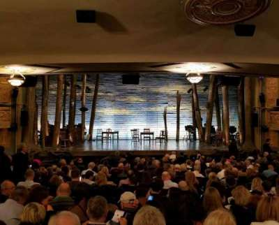 Gerald Schoenfeld Theatre, section: SRO, seat: 103