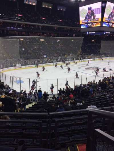 Nationwide Arena, section: 117, row: CC, seat: 1