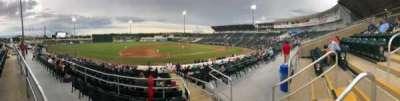 Hammond Stadium, section: 216, row: 1, seat: 3