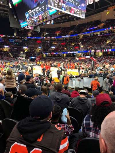 Quicken Loans Arena, section: 128, row: 9, seat: 15