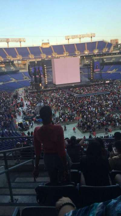 M&T Bank Stadium, section: 243, row: 9, seat: 4