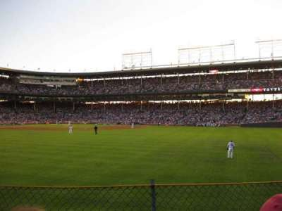 Wrigley Field section 312